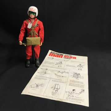 ACTION MAN - RED DEVIL -  COMPLETE